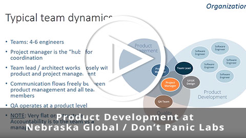 Product Development at Nebraska Global / Don't Panic Labs